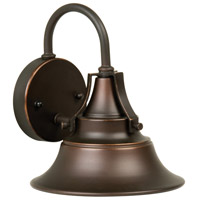 Exteriors by Craftmade Union 1 Light Outdoor Wall Mount in Oiled Bronze Gilded Z4404-88