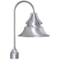 Craftmade Z4415-SA Union 1 Light 21 inch Satin Aluminum Outdoor Post Light Medium