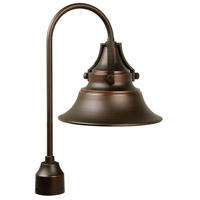 Craftmade Z4415-OBG Union 1 Light 21 inch Oiled Bronze Gilded Outdoor Post Light, Medium