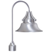 Craftmade Z4415-SA Union 1 Light 21 inch Satin Aluminum Outdoor Post Light, Medium