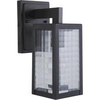 Craftmade Z4504-MN-SC Deka 1 Light 12 inch Midnight Outdoor Wall Lantern Small
