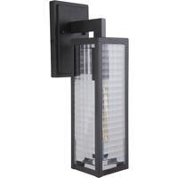 Craftmade Z4514-MN-SC Deka 1 Light 17 inch Midnight Outdoor Wall Lantern Medium