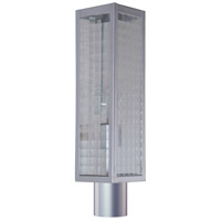 Craftmade Z4525-CM-SC Deka 1 Light 19 inch Brushed Aluminum Outdoor Post Mount Large