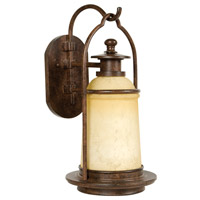 Exteriors by Craftmade Portofino 1 Light Outdoor Wall Mount in Aged Bronze Z4704-98