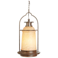 Exteriors by Craftmade Portofino 1 Light Outdoor Pendant in Aged Bronze Z4721-98