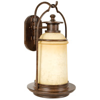 Exteriors by Craftmade Portofino 1 Light Outdoor Wall Mount in Aged Bronze Z4724-98