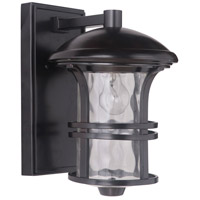 Craftmade Z5104-OBO Courtyard 1 Light 14 inch Oiled Bronze Outdoor Wall Lantern Small