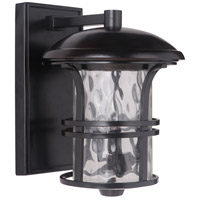 Craftmade Z5114-OBO Courtyard 3 Light 15 inch Oiled Bronze Outdoor Wall Lantern Medium