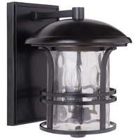 Courtyard 3 Light 16 inch Oiled Bronze Outdoor Wall Lantern, Large
