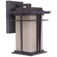 Exteriors by Craftmade Winslow 1 Light Outdoor Wall Mount in Oiled Bronze Z5204-92