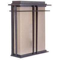 Winslow 1 Light 13 inch Oiled Bronze Outdoor Pocket Wall Mount
