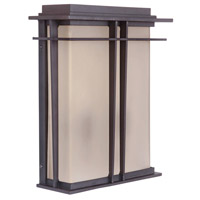 Exteriors by Craftmade Winslow 2 Light Outdoor Wall Pocket in Oiled Bronze Z5222-92