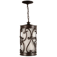 Exteriors by Craftmade Glendale 1 Light Outdoor Pendant in Aged Bronze Z5321-98-LED