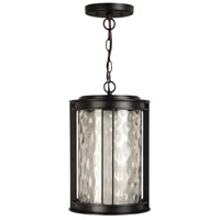 Exteriors by Craftmade Brentwood 1 Light Outdoor Pendant in Oiled Bronze Z5421-92-LED