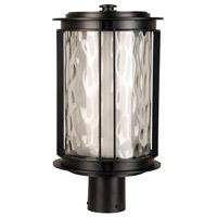 Exteriors by Craftmade Brentwood 1 Light Post Mount in Oiled Bronze Z5425-92-LED
