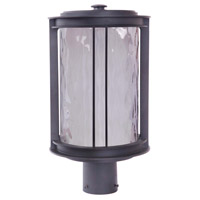 Exteriors by Craftmade Brentwood 1 Light Post Mount in Oiled Bronze Z5425-92