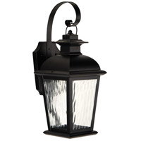 Craftmade Z5704-OBO-LED Branbury LED 17 inch Oiled Bronze Outdoor Wall Lantern, Small