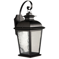 Exteriors by Craftmade Branbury 1 Light Outdoor Wall Mount Lantern in Oiled Bronze Z5714-92-LED