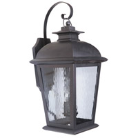 Branbury 3 Light 30 inch Oiled Bronze Outdoor Wall Lantern, Extra Large
