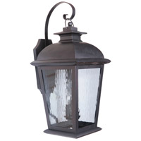Craftmade Z5734-OBO Branbury 3 Light 30 inch Brushed Aluminum Outdoor Wall Mount, Extra Large