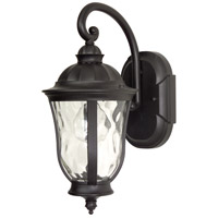 Exteriors by Craftmade Frances 1 Light Outdoor Wall Mount in Oiled Bronze Z6004-92