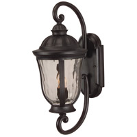 Exteriors by Craftmade Frances 2 Light Outdoor Wall Mount in Oiled Bronze Z6010-92