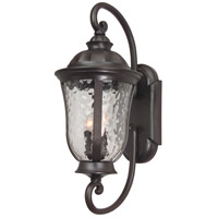 Craftmade Z6020-92 Frances 3 Light 29 inch Oiled Bronze Outdoor Wall Mount in Clear Hammered