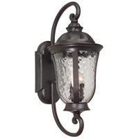 Craftmade Z6020-OBO Frances 3 Light 29 inch Brushed Aluminum Outdoor Wall Mount, Large