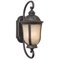 Exteriors by Craftmade Frances II 1 Light Outdoor Wall Mount in Oiled Bronze Z6100-92-NRG