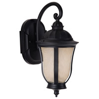 Exteriors by Craftmade Frances II 1 Light Outdoor Wall Mount in Oiled Bronze Z6104-92