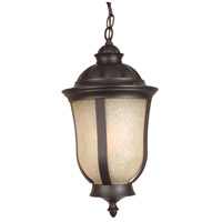 Frances 1 Light 10 inch Oiled Bronze Outdoor Pendant in GU24