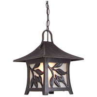 Exteriors by Craftmade Mandalay 1 Light Outdoor Pendant in Antique Bronze Z7061-63