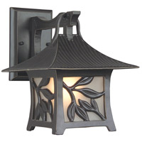 Exteriors by Craftmade Mandalay 1 Light Outdoor Wall Mount in Antique Bronze Z7064-63