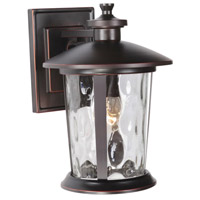 Summerhays 1 Light 14 inch Oiled Bronze Gilded Outdoor Wall Lantern, Medium