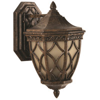 Exteriors by Craftmade Evangeline 2 Light Outdoor Wall Mount Lantern in Peruvian Bronze Z7204-112
