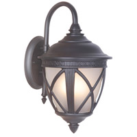Exteriors by Craftmade Artesia 2 Light Outdoor Wall Mount Lantern in Oiled Bronze Z7304-92