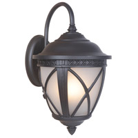 Exteriors by Craftmade Artesia 3 Light Outdoor Wall Mount Lantern in Oiled Bronze Z7314-92