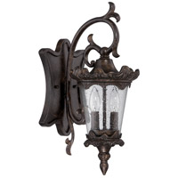 Exteriors by Craftmade Kingston 2 Light Outdoor Wall Mount Lantern in Peruvian Bronze Z7414-112