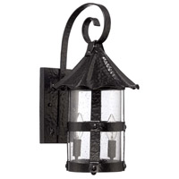 Exteriors by Craftmade Willoughby 2 Light Outdoor Wall Mount Lantern in Midnight Z7514-11