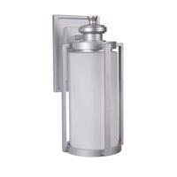Craftmade Z7614-CM Remi 1 Light 16 inch Chromite Outdoor Wall Lantern Medium