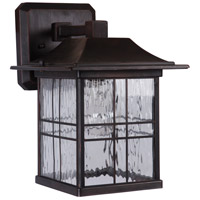 Craftmade Z7804-ABZ Dorset 1 Light 11 inch Aged Bronze Brushed Outdoor Wall Lantern Small