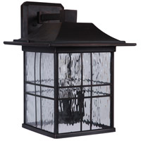 Craftmade Z7824-ABZ Dorset 3 Light 15 inch Aged Bronze Brushed Outdoor Wall Lantern Large