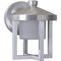 Craftmade Z9204-SA-LED Alta LED 8 inch Satin Aluminum Outdoor Wall Lantern Small
