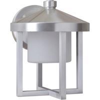 Craftmade Z9214-SA-LED Alta LED 9 inch Satin Aluminum Outdoor Wall Lantern Medium