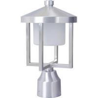 Craftmade Z9215-SA-LED Alta LED 13 inch Brushed Aluminum Outdoor Post Mount in Satin Aluminum, Medium
