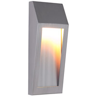 Craftmade Z9302-BAO-LED Wedge LED 11 inch Brushed Aluminum Outdoor Pocket Sconce, Small alternative photo thumbnail