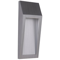 Craftmade Z9312-BAO-LED Wedge LED 15 inch Brushed Aluminum Outdoor Pocket Sconce, Medium