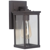 Craftmade Z9704-OBO Riviera Iii 1 Light 11 inch Oiled Bronze Outdoor Wall Lantern, Small