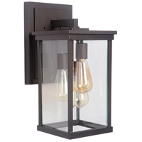 Craftmade Z9724-OBO Riviera III 3 Light 17 inch Oiled Bronze Outdoor Wall Lantern, Large