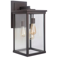 Craftmade Z9734-OBO Riviera III 3 Light 21 inch Oiled Bronze Outdoor Wall Lantern, Extra Large